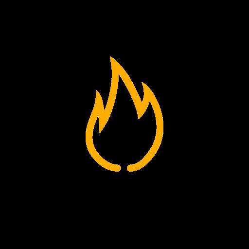 Symbole de feu jaune (icône png)