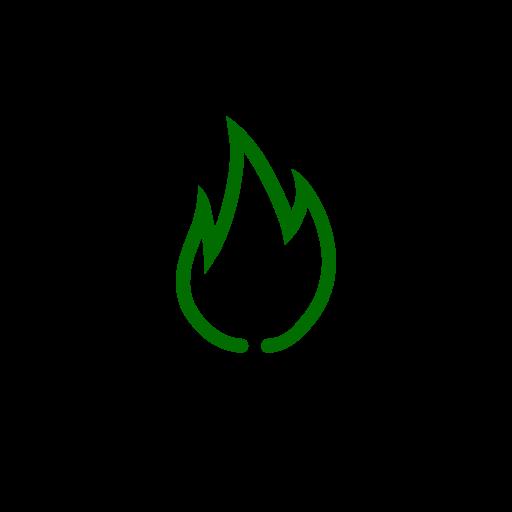 Symbole de feu vert (icône png)