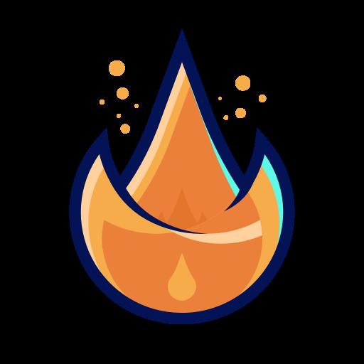 Symbole de feu (icône png)
