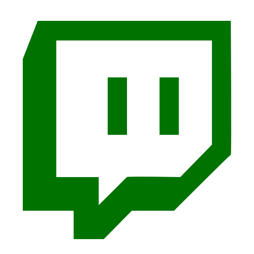 Symbole Twitch (logo et icône png) vert