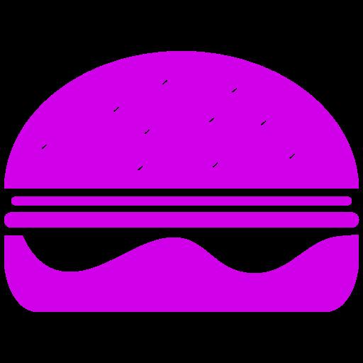 Symbole Burger (symbole png) rose