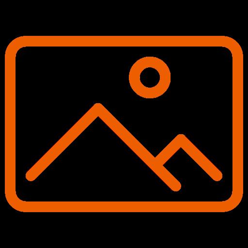 Symbole de l'image (symbole png) orange