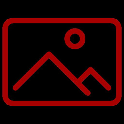 Symbole d'image rouge (symbole png)
