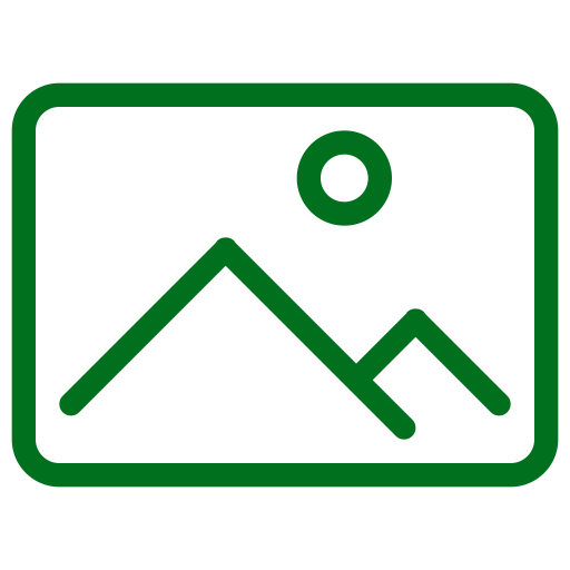 Symbole d'image (symbole png) vert